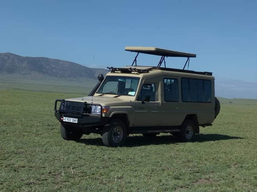 Africa Safari Car